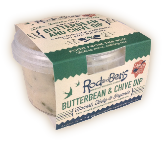Butterbean and chive dip