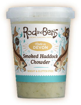 Smoked haddock chowder pot